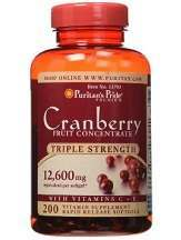 Puritan's Pride Triple Strength Cranberry Concentrate Review