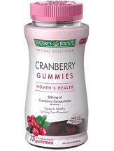 natures-bounty-cranberry-gummies-review